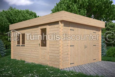 Houten Garage Noord Holland 38x535m 45mm Tuinhuiscom